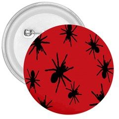 Illustration With Spiders 3  Buttons