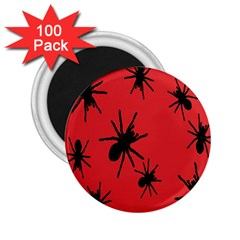 Illustration With Spiders 2.25  Magnets (100 pack)
