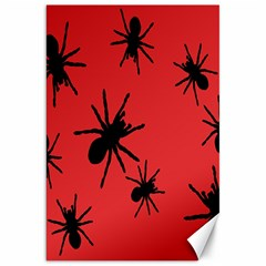 Illustration With Spiders Canvas 20  x 30