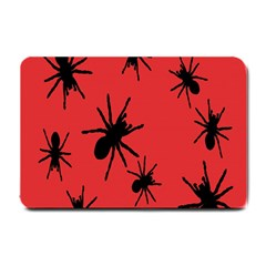 Illustration With Spiders Small Doormat