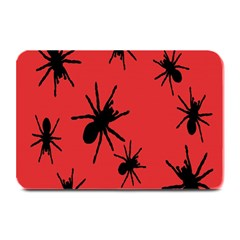 Illustration With Spiders Plate Mats