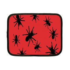 Illustration With Spiders Netbook Case (Small)