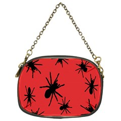 Illustration With Spiders Chain Purses (One Side)