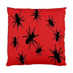 Illustration With Spiders Standard Cushion Case (two Sides)