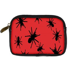 Illustration With Spiders Digital Camera Cases