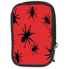 Illustration With Spiders Compact Camera Cases