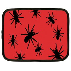 Illustration With Spiders Netbook Case (XL)