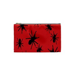 Illustration With Spiders Cosmetic Bag (Small)