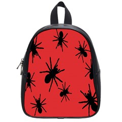 Illustration With Spiders School Bags (small)
