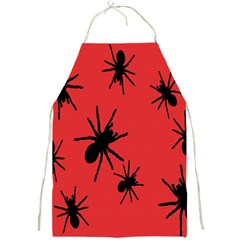 Illustration With Spiders Full Print Aprons