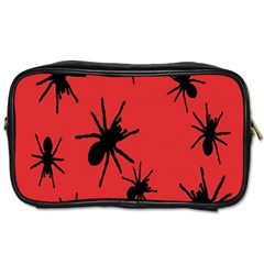 Illustration With Spiders Toiletries Bags 2-Side