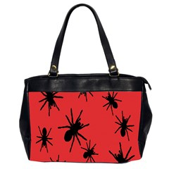 Illustration With Spiders Office Handbags (2 Sides)