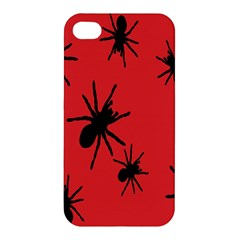 Illustration With Spiders Apple Iphone 4/4s Hardshell Case