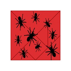 Illustration With Spiders Acrylic Tangram Puzzle (4  X 4 )