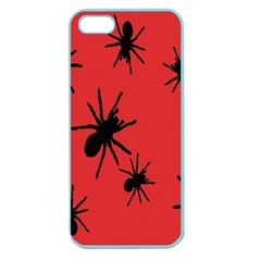 Illustration With Spiders Apple Seamless iPhone 5 Case (Color)
