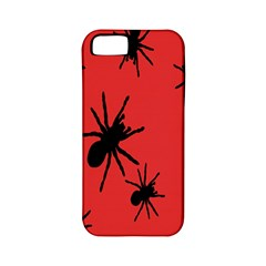 Illustration With Spiders Apple Iphone 5 Classic Hardshell Case (pc+silicone)