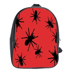Illustration With Spiders School Bags (XL)