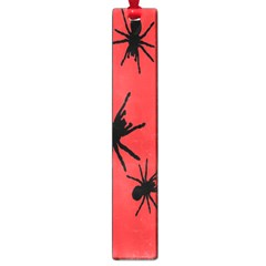 Illustration With Spiders Large Book Marks