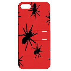 Illustration With Spiders Apple iPhone 5 Hardshell Case with Stand
