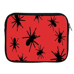 Illustration With Spiders Apple iPad 2/3/4 Zipper Cases