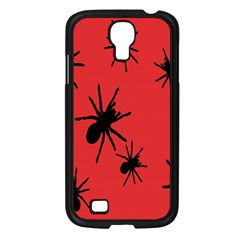 Illustration With Spiders Samsung Galaxy S4 I9500/ I9505 Case (Black)