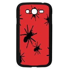 Illustration With Spiders Samsung Galaxy Grand DUOS I9082 Case (Black)