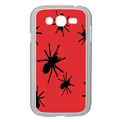 Illustration With Spiders Samsung Galaxy Grand DUOS I9082 Case (White)