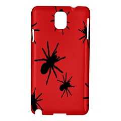 Illustration With Spiders Samsung Galaxy Note 3 N9005 Hardshell Case