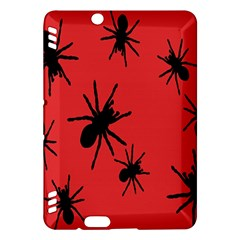 Illustration With Spiders Kindle Fire Hdx Hardshell Case