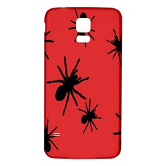 Illustration With Spiders Samsung Galaxy S5 Back Case (White)