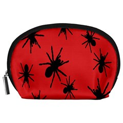 Illustration With Spiders Accessory Pouches (Large)