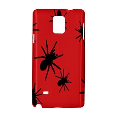 Illustration With Spiders Samsung Galaxy Note 4 Hardshell Case