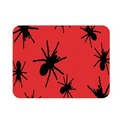 Illustration With Spiders Double Sided Flano Blanket (Mini)