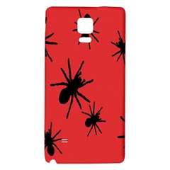 Illustration With Spiders Galaxy Note 4 Back Case