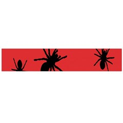 Illustration With Spiders Flano Scarf (large)