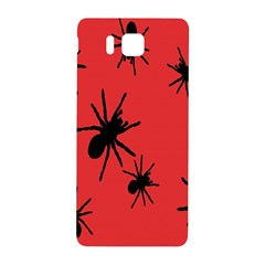 Illustration With Spiders Samsung Galaxy Alpha Hardshell Back Case