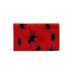 Illustration With Spiders Cosmetic Bag (XS)
