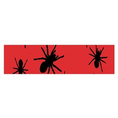 Illustration With Spiders Satin Scarf (Oblong)