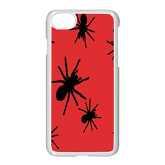 Illustration With Spiders Apple Iphone 7 Seamless Case (white)