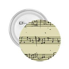 Music Notes On A Color Background 2.25  Buttons