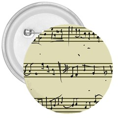 Music Notes On A Color Background 3  Buttons