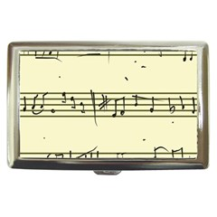 Music Notes On A Color Background Cigarette Money Cases