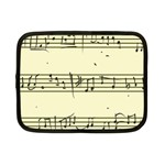 Music Notes On A Color Background Netbook Case (Small)  Front