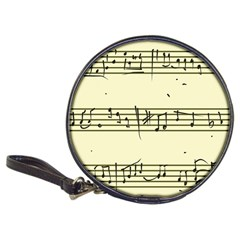 Music Notes On A Color Background Classic 20-CD Wallets