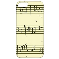 Music Notes On A Color Background Apple iPhone 5 Classic Hardshell Case