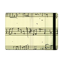Music Notes On A Color Background Apple Ipad Mini Flip Case