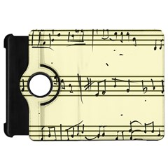 Music Notes On A Color Background Kindle Fire HD 7
