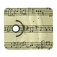 Music Notes On A Color Background Galaxy S3 (flip/folio)
