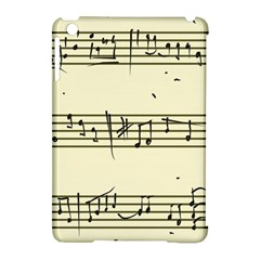 Music Notes On A Color Background Apple Ipad Mini Hardshell Case (compatible With Smart Cover)