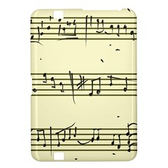 Music Notes On A Color Background Kindle Fire Hd 8 9